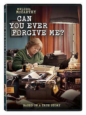 Can You Ever Forgive Me? Melissa McCarthy Marielle Heller DVD [Comedy] NEW