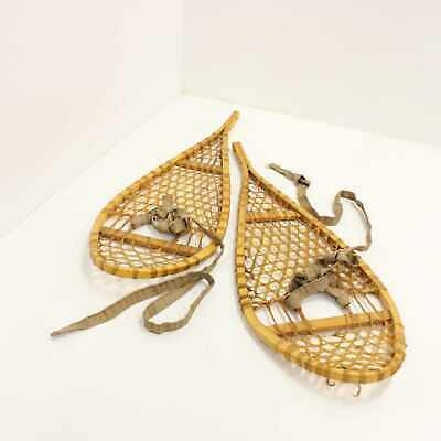 Vintage Snow Shoes Collectible Display Piece Local Pick Up Only  #416