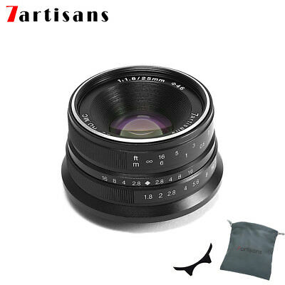 7artisans 25mm f/1.8 manual focus lens for Fujifilm FX mount X-Pro2 E1 T10 T2