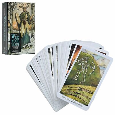 The Wildwood Tarot: Wherein Wisdom Resides by Mark Ryan Deck Card Set New In Box