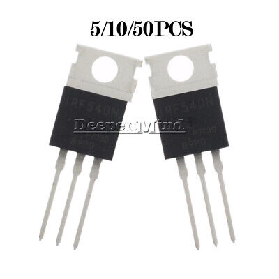 1] N-CHANNEL 130W Power MOSFET 33A 100V IRF540 NPBF [ by DAPET