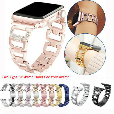 Women Watch Band For Apple Watch Bands Diamond Strap For iWatch Series 4 3 2 1