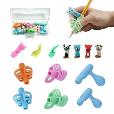 Soft Rubber Children Pencil Holder Writing Hold Pen Grip Posture Correction Tool