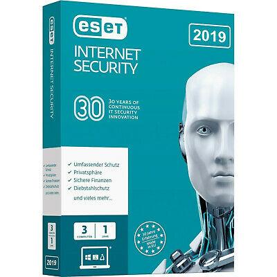 ESET Internet Security 2020 - Global Licence - 1, 2, 3, 5 PC / 1 Year  - ESD