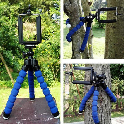 Octopus Mini Tripod Stand Grip Holder Mount Mobile Phones Cameras Gadgets FOAM