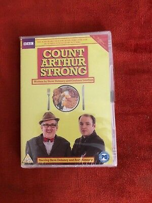 Brand new and sealed Count Arthur Strong DVD
