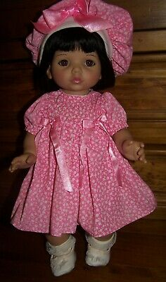 Vintage Baby So Beautiful Doll In Original Clothing With Accessories
