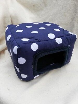 Navy with white spots sqube