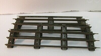 Lot Of 4 Lionel Standard Gauge Scale Straight Train Track Pieces tr1187