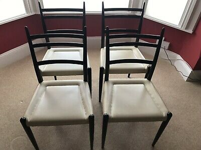 G Plan E Gomme Dining Chairs Librenza Ponti Superlegerra 1950s 1960s Mid-Century