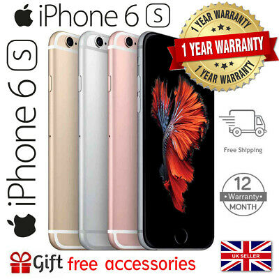 Apple iPhone 6s 16GB 32GB 64GB 128GB Network Unlocked Voda Smartphone IOS UK