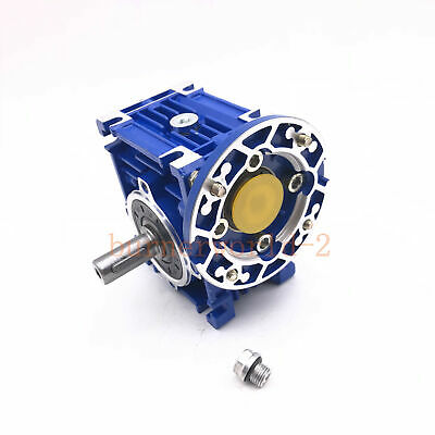 NMRV030 Worm Gear Reducer 56B14 Speed Ratio 10 20 30 80:1 for Asynchronous Motor