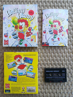 Rolling Ronny by Starbyte Software x Commodore 64/128 Platform