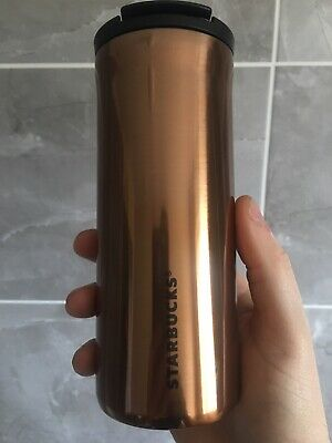 Starbucks Travel Mug Stainless Steel Millie Copper Thermo 12 oz with SKU new