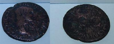 50-54AD Germanicus Under Claudius S  C   Very RARE  -  Aliz