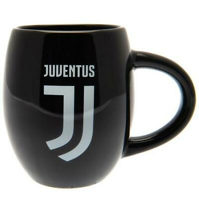 Juventus Tea Tub Mug Black Cup Crest Coffee Gift Official Licensed Product