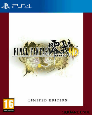 Final Fantasy Type-0 HD - FR4ME Special Edition  [PS4] New and Factory Sealed!!