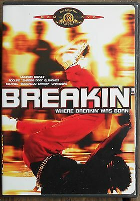 Breakin' (DVD, 2003) RARE OOP 1984 MUSICAL OFFICIAL MGM MINT DISC