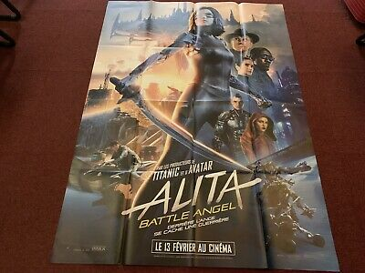 Lot Affiches « Alita: Battle Angel »