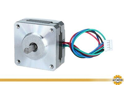 1PC 16HS2404L14.5P1-X Nema16 1.8° Stepper Motor φ5mm 20mm 0.09Nm 0.4A D-shaft