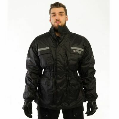 Viper H2Out All Weather Motorcycle Bike Over Jacket Waterproof Hi Vis New