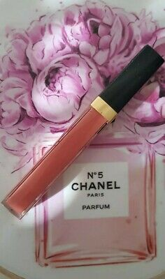 Chanel Rouge Coco Gloss Gel Brillant Hydratant Moisturizing Glossimer # 744
