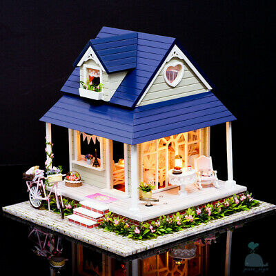 DIY handcraft Miniature Project Kit Wooden Dolls House My Secret Country Lodge