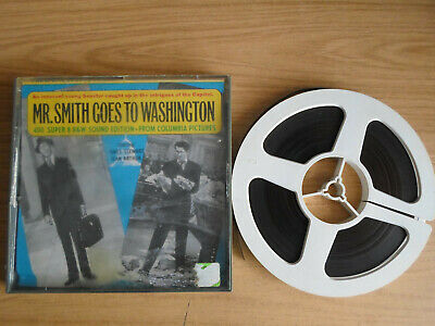 Super 8mm 1X400 MR SMITH GOES TO WASHINGTON. James Stewart classic.
