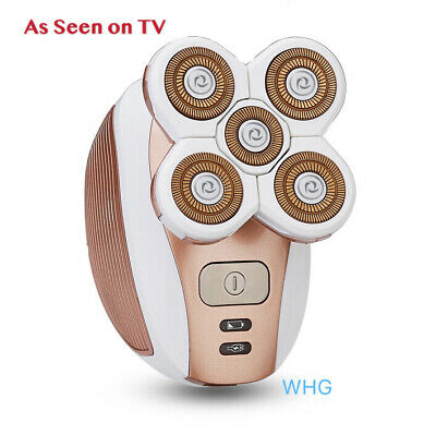 [2019 Upgraded] WHG Women's Painless Electric Hair Remover Shaver