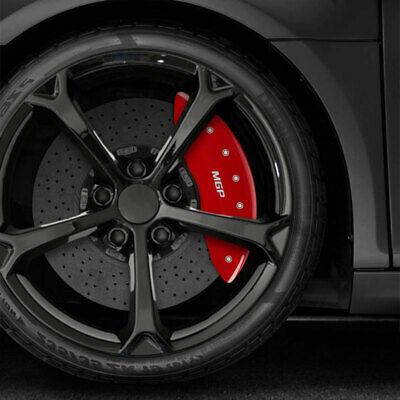 MGP Set of 4 Red Caliper Covers for Mustang GT w//MUSTANG /& GT Text 10200S2MGRD