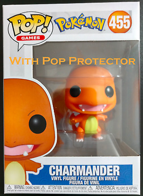 Funko Pop Charmander #455 *Pre-Sale* With Pop Protector