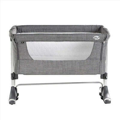Minicuna Colecho Teeny Lino Gris - Colores - Gris