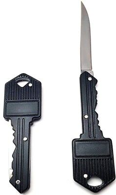 Key Shaped Pocket Knife, Screwdrivers, & More (Keychain Multitool Items)