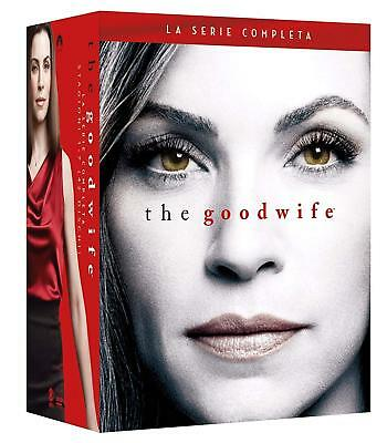 The Good Wife - La Serie Completa 42 Dvd - Stagioni 1-7 Nuovo Italiano Sigillato