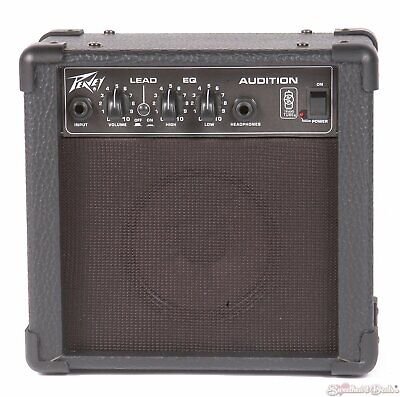 Peavey Audition Practice Amp for Guitars w/ Overdrive Channel