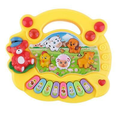 Baby Kids Musical Educational Animal Farm Piano Developmental Music Toy Gift ZH