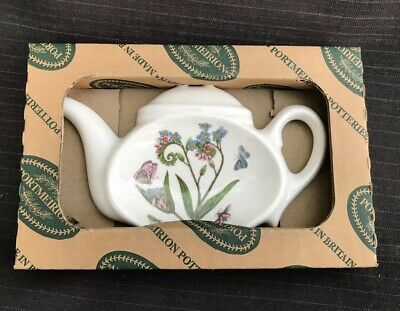 Portmeirion - Botanic Garden - Tea Tidy - Excellent Condition - Boxed