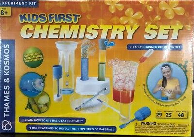 cc26626d5 Thames & Kosmos Kids First Chemistry Set Science Kit Ages 8+ NIB Free Ship  To