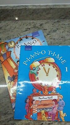 PIano TIme 1 with Piano Time Pieces: Bk. 1 by Pauline Hall