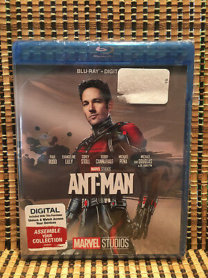 Ant-Man (Blu-ray, 2017)Marvel Avenger.Evangeline Lilly/Paul Rudd