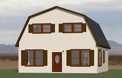 28X32 HOUSE -- 5 Bedroom 2 Bath -- PDF Floor Plan -- 1,544 sq ft