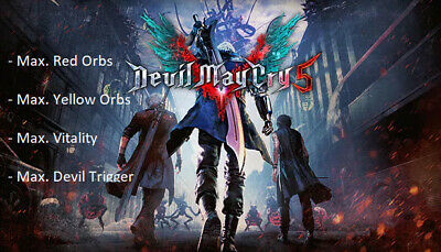 Devil May Cry 5 | PS4 | Save Game Modification (Max. Orbs, Max. Stats... )