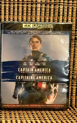 Captain America: The First Avenger 4K (2-Disc Blu-ray, 2019)Marvel.