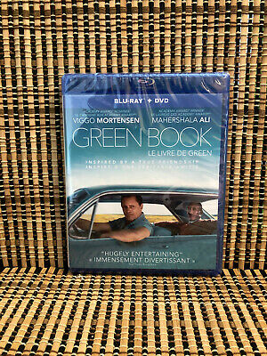 Green Book (2-Disc Blu-ray/DVD, 2019)Viggo Mortensen.Best Picture Oscar Winner