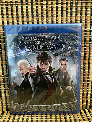 Fantastic Beasts 2: The Crimes of Grindelwald (2-Disc Blu-ray/DVD, 2019)JK Rowli