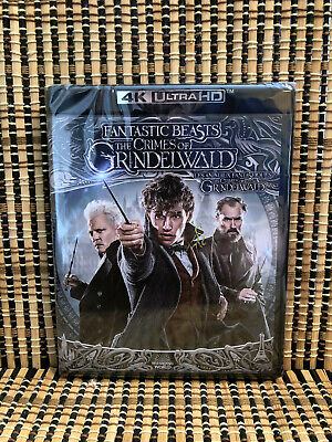 Fantastic Beasts 2: The Crimes of Grindelwald 4K (2-Disc Blu-ray,2019)JK Rowling