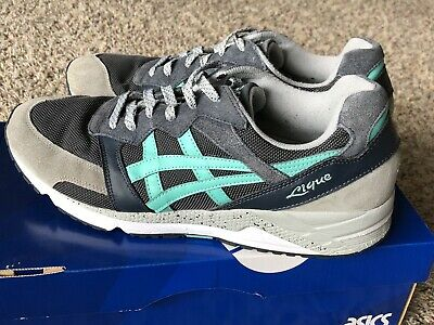 outlet store 5bde5 052a4 ONITSUKA TIGER BY Asics: Gel-Lique Gray, Dark Gray, And Teal. Men's 11.5