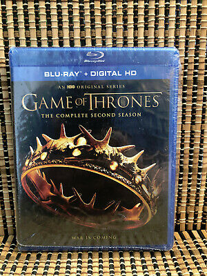 Game of Thrones: Season Two (4-Disc Blu-ray, 2017)GoT.Second/Stark/HBO/TV Series