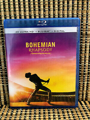Bohemian Rhapsody (1-Disc Blu-ray, 2019)Queen/Rami Malek/True Story/Musical