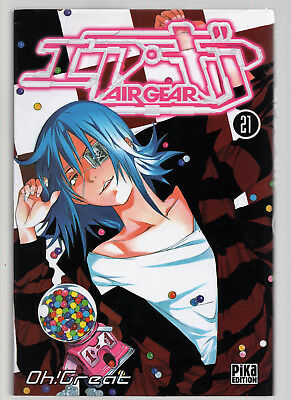 EO 1ère EDITION V.F / AIR GEAR T°21 / OH ! GREAT / PIKA EDITION / COMME NEUF !